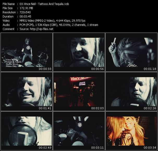 Vince Neil video screenshot