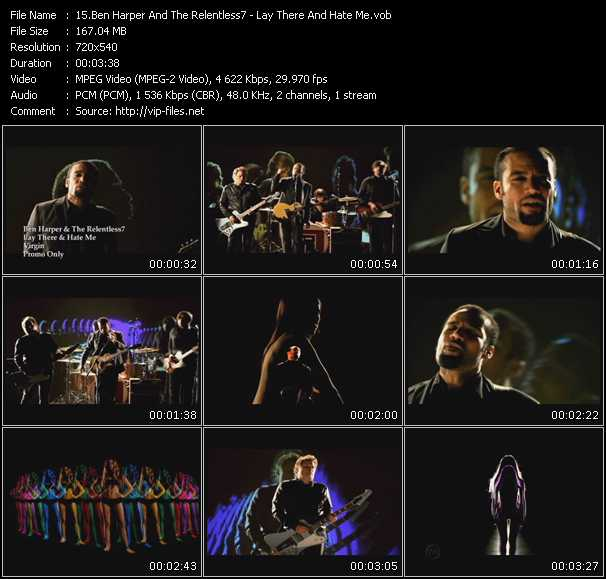 Ben Harper And Relentless 7 video screenshot