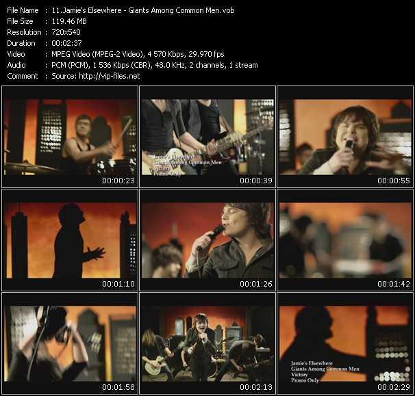 Jamie's Elsewhere video screenshot