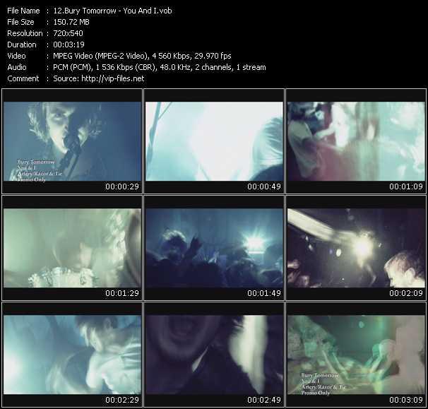 Bury Tomorrow video screenshot