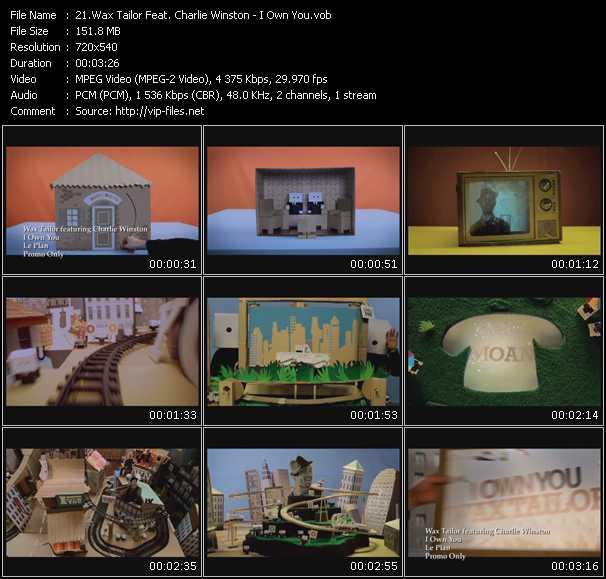 Wax Tailor Feat. Charlie Winston video screenshot