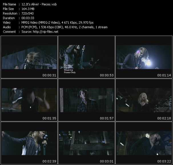 It's Alive! video screenshot
