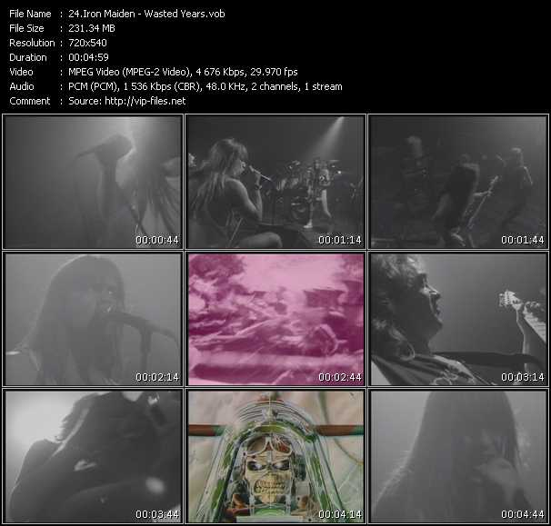 Iron Maiden video screenshot