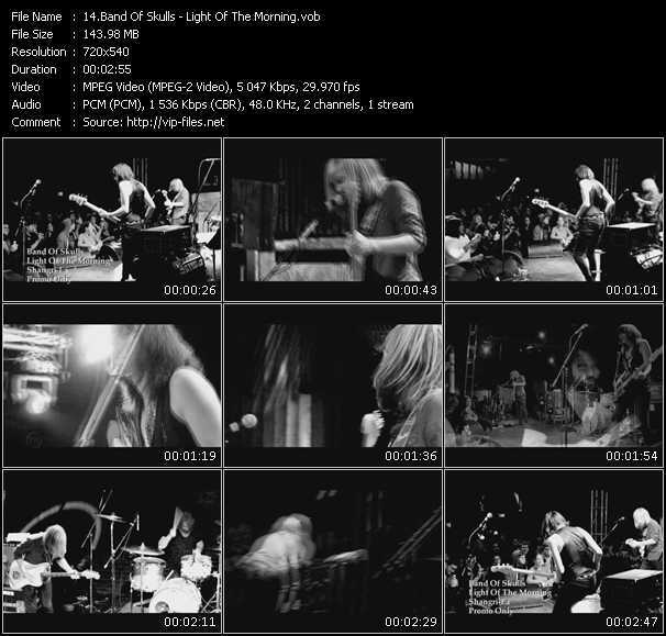 Band Of Skulls video screenshot