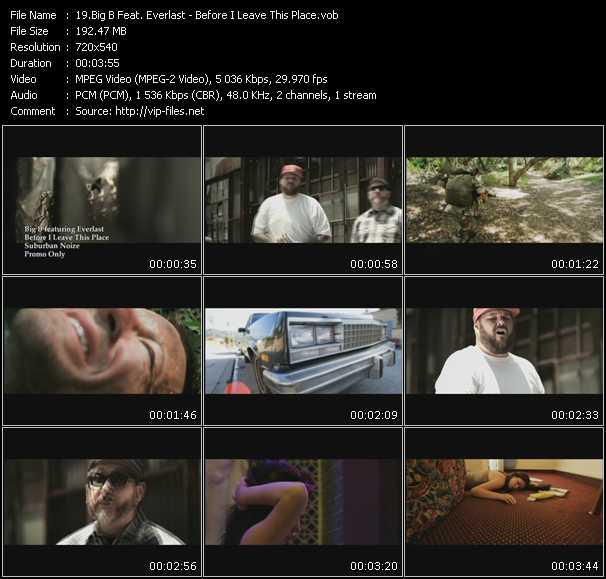 Big B Feat. Everlast video screenshot