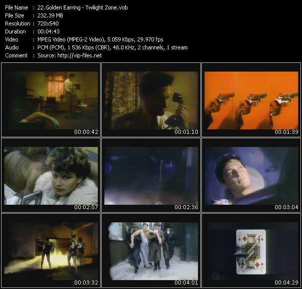 Golden Earring video screenshot