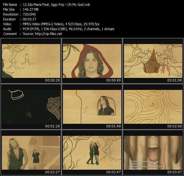 Ida Maria Feat. Iggy Pop video screenshot