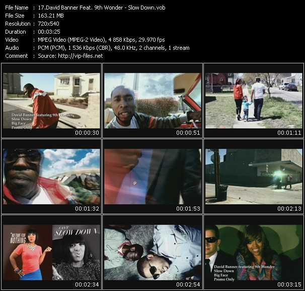 David Banner Feat. 9th Wonder video screenshot