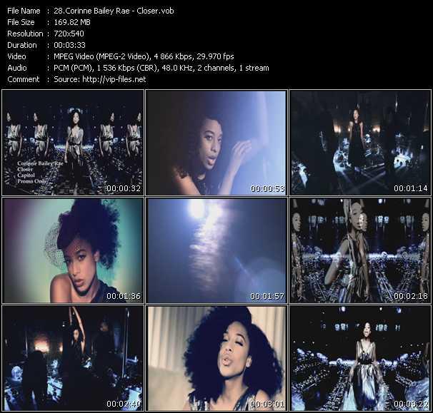 Corinne Bailey Rae video screenshot