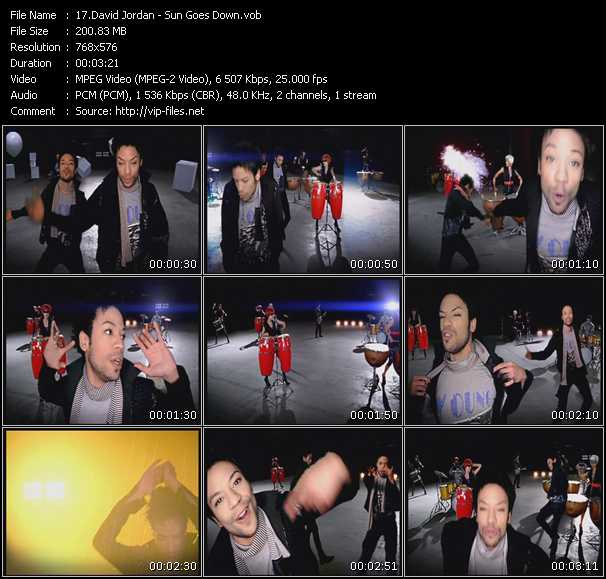 David Jordan video screenshot