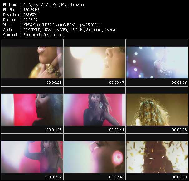 video On And On (UK Version) screen