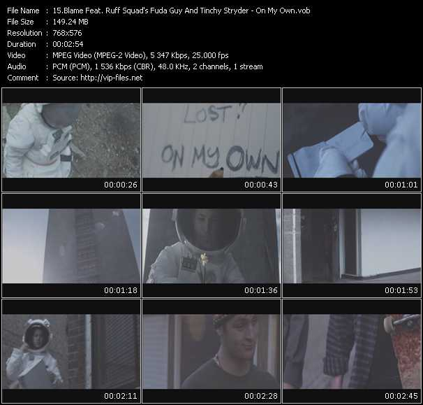 Blame Feat. Ruff Squad's Fuda Guy And Tinchy Stryder video screenshot
