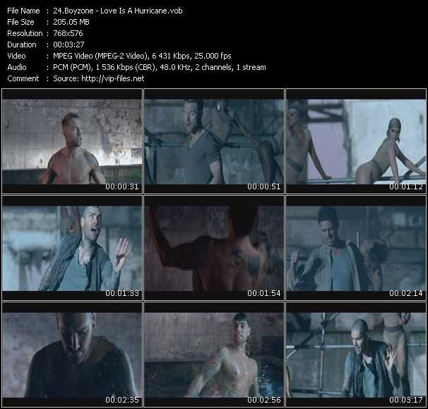 video Love Is A Hurricane screen