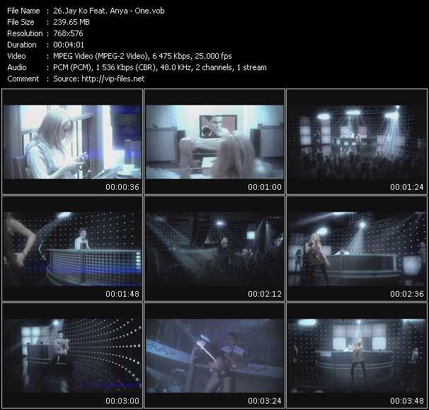 video One screen