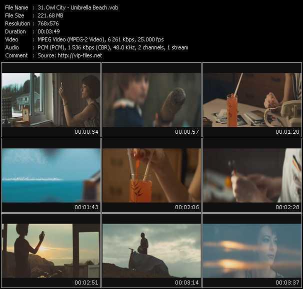 Owl City video screenshot