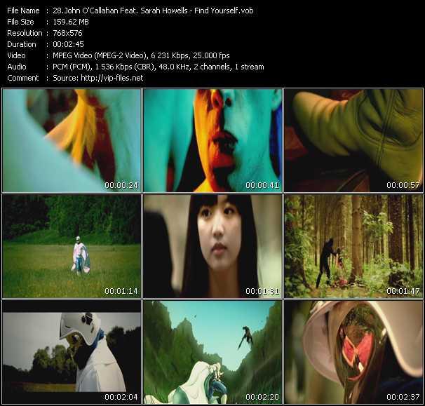 John O'Callaghan Feat. Sarah Howells video screenshot
