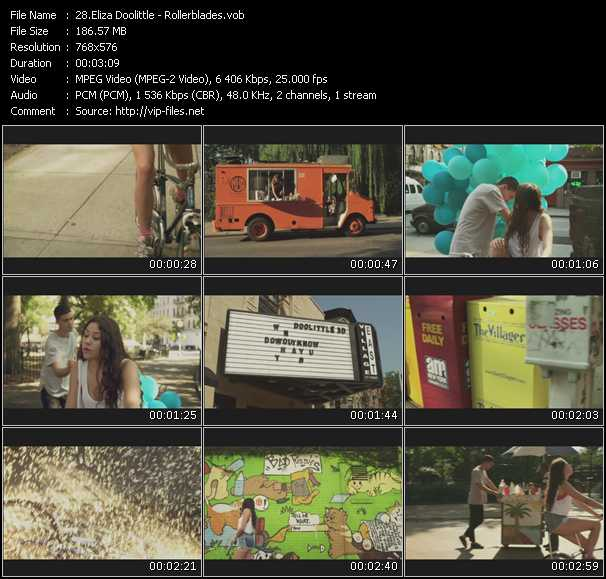 Eliza Doolittle video screenshot