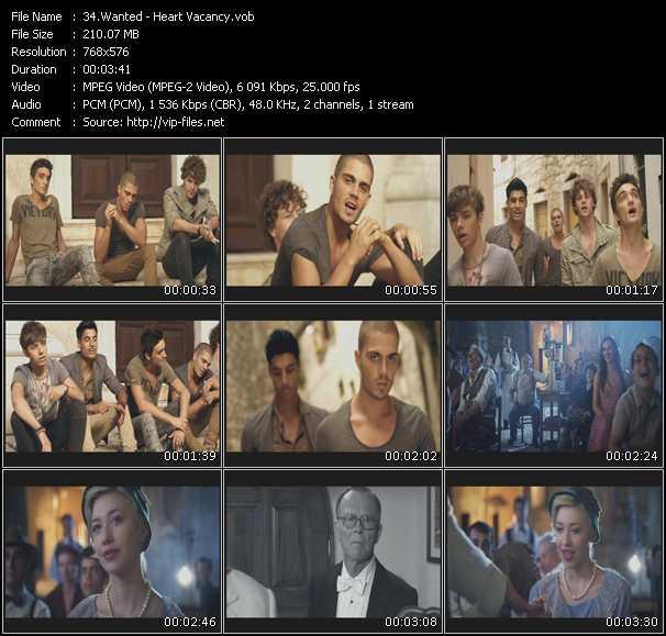 Wanted video screenshot
