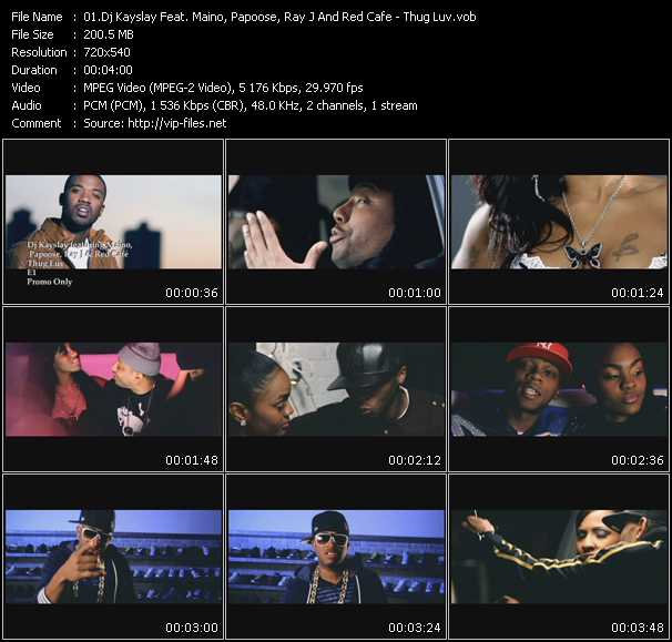 Dj Kay Slay (Dj Kayslay) Feat. Maino, Papoose, Ray J And Red Cafe video screenshot