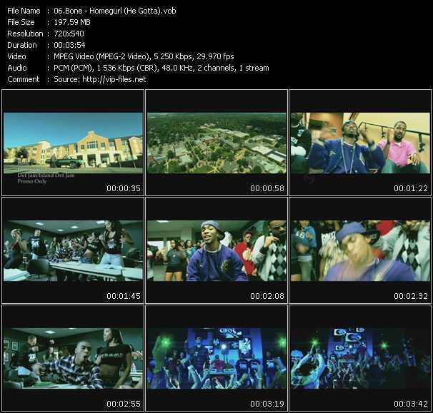 Bone video screenshot