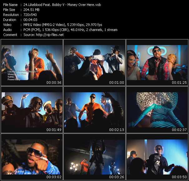 Likeblood Feat. Bobby Valentino (Bobby V) video screenshot