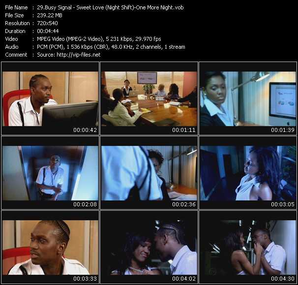 Busy Signal video screenshot