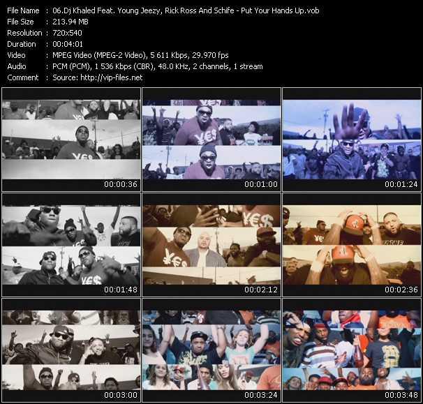 Dj Khaled Feat. Young Jeezy, Rick Ross And Schife video screenshot