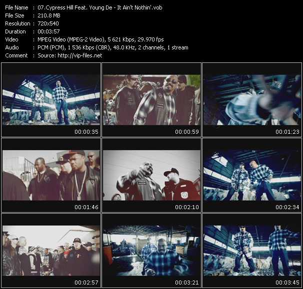 Cypress Hill Feat. Young De video screenshot