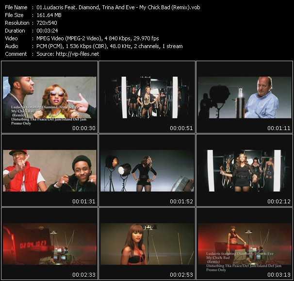 Ludacris Feat. Diamond, Trina And Eve video screenshot