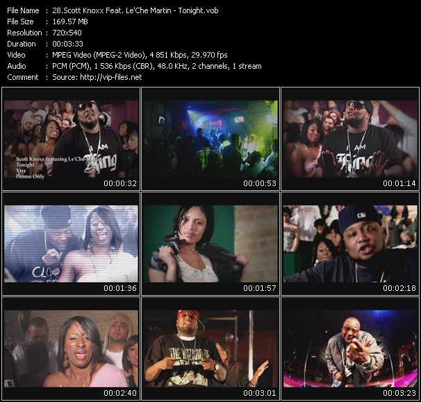 Scott Knoxx Feat. Le'Che Martin video screenshot