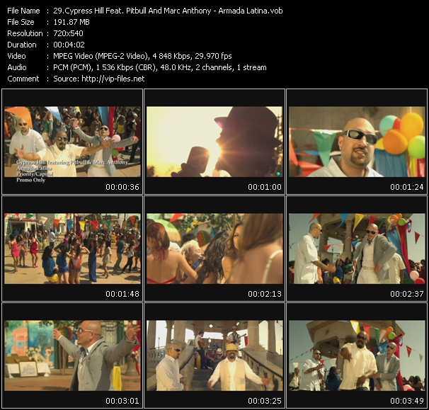 video Armada Latina screen