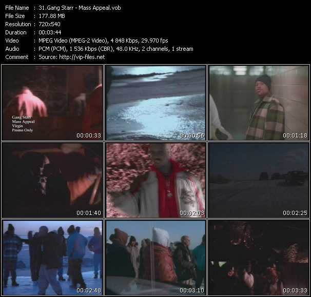 Gang Starr video screenshot