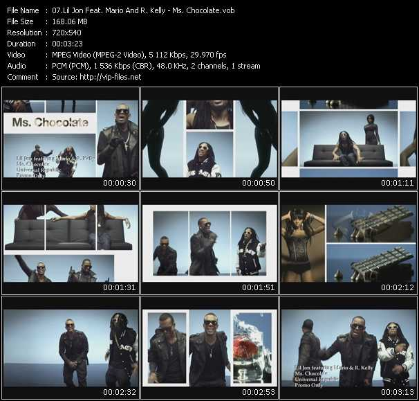 video Ms. Chocolate screen