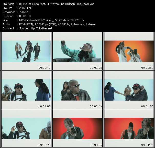 Playaz Circle Feat. Lil' Wayne And Birdman video screenshot
