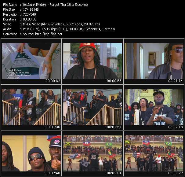 Dunk Ryders video screenshot