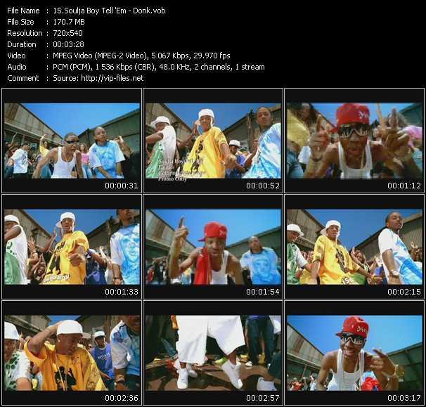 video Donk screen