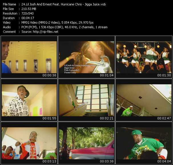 Lil' Josh And Ernest Feat. Hurricane Chris video screenshot