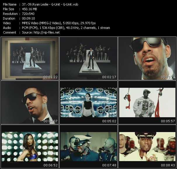 Ryan Leslie - G-Unit - G-Unit video screenshot