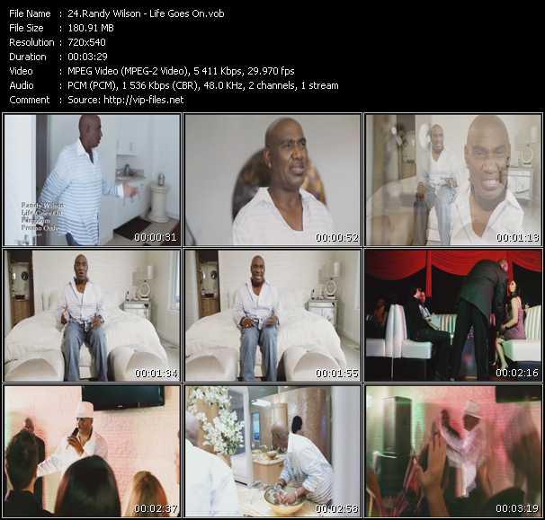 Randy Wilson video screenshot