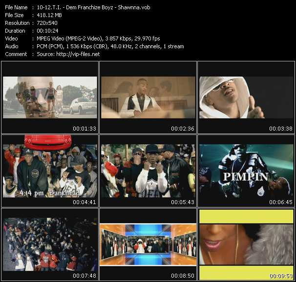 T.I. - Dem Franchize Boyz - Shawnna video screenshot
