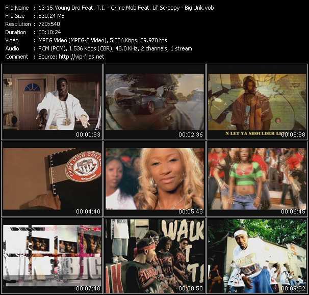 Young Dro Feat. T.I. - Crime Mob Feat. Lil' Scrappy - Big Unk video screenshot