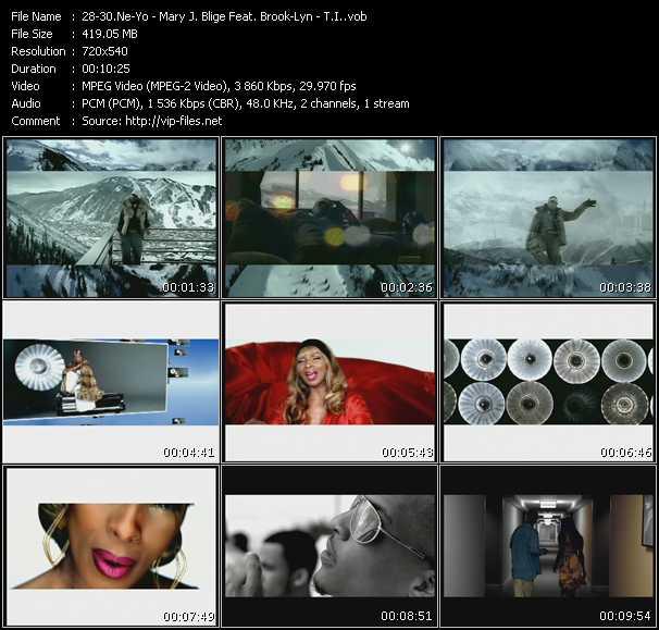 Ne-Yo - Mary J. Blige Feat. Brook Lynn - T.I. video screenshot