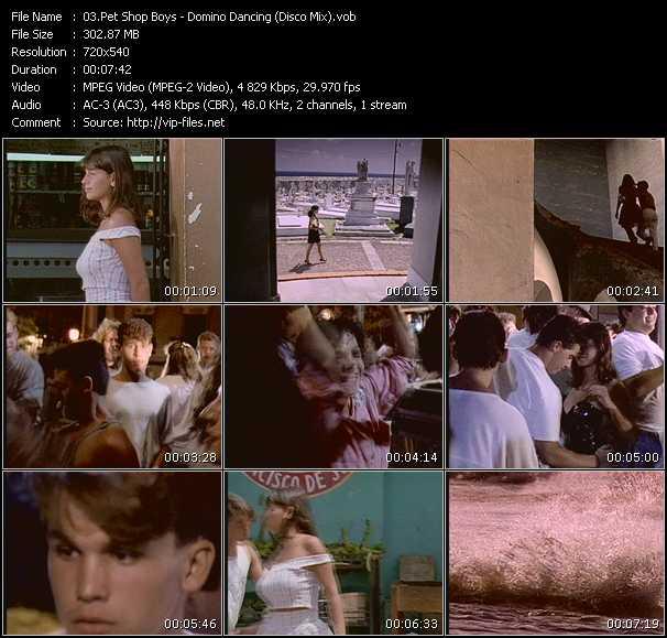 video Domino Dancing (Disco Mix) screen