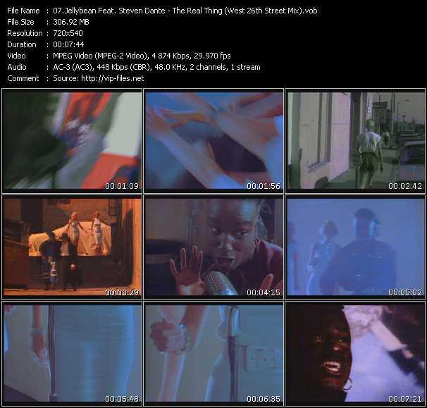 Jellybean Feat. Steven Dante video screenshot