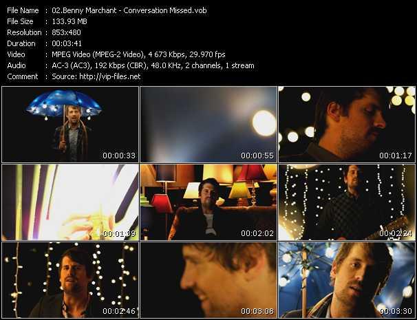 Benny Marchant video screenshot