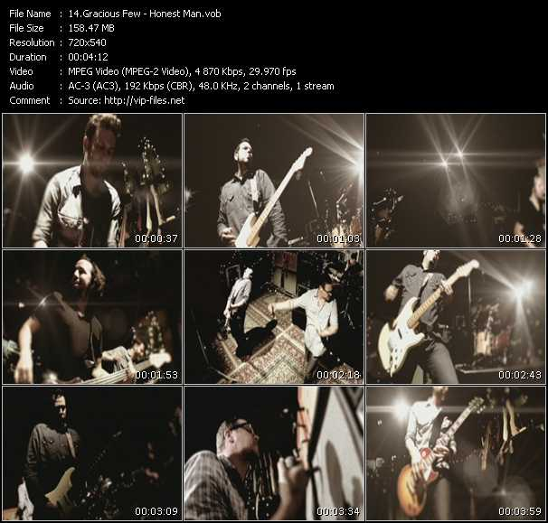 Gracious Few video screenshot