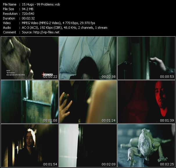 Hugo video screenshot