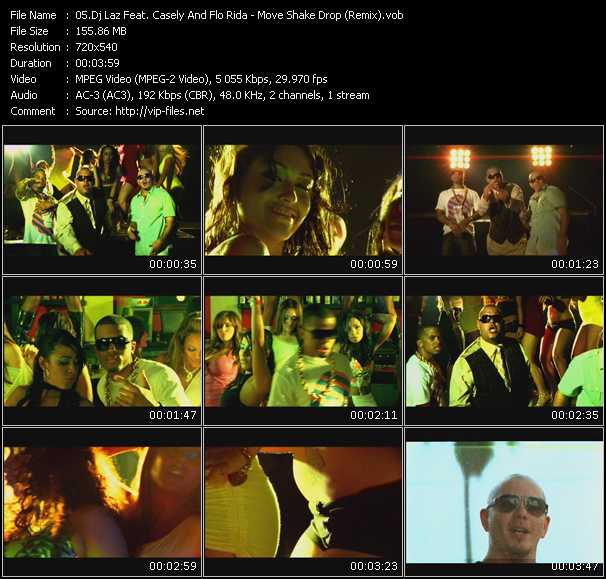 Dj Laz Feat. Casely And Flo Rida video screenshot