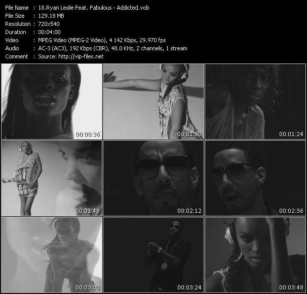 Ryan Leslie Feat. Fabulous video screenshot
