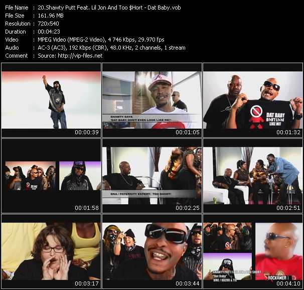 Shawty Putt Feat. Lil' Jon And Too Short video screenshot